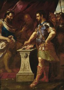 De Historie van de Mucius Scaevola