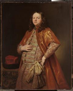 Portret van een man in vorstelijk kostuum