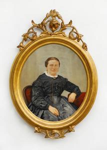 Portret van Johanna Maria van Koolwijk (1827-1876)