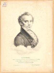 Portret van Hendrik Turken (1791-1856)