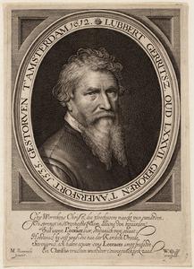Portret van Lubbert Gerritsz. (Yserman) (1535-1612)