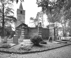 Warmond, ruïne van de Sint Matthiaskerk