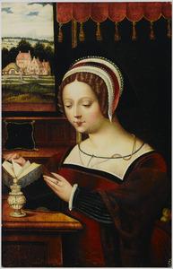 Maria Magdalena lezend
