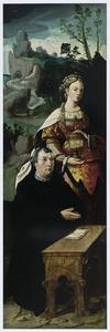 De H. Maria Magdalena met stichter