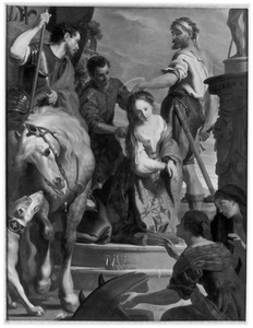 De onthoofding van de H. Catharina van Alexandrië