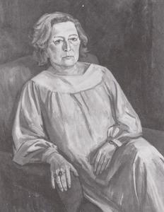 Portret van Anna Maria van der Moer (1912-1983)