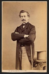 Portret van Johan Michael Schmidt Crans (1830-1907)