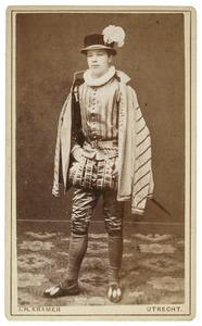 Portret van Cornelis Frank Marinus Deeleman (1862-1939) als Heer van Carlo