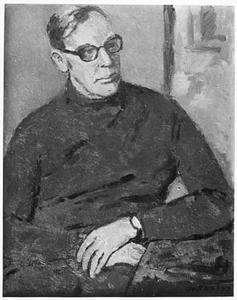 Portret van minister Trip