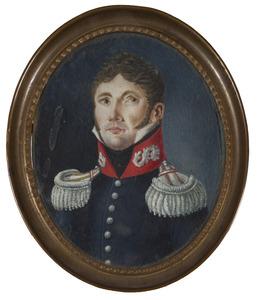 Portret van een man, waarschijnlijk Rombertus Franciscus Wierdsma (1808-1870)