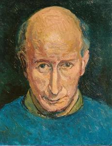 Zelfportret van Carl Klinkert