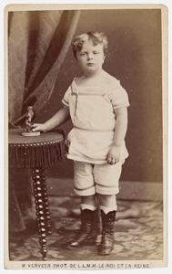 Portret van waarschijnlijk Volcker