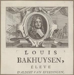 Portret van Ludolf Bakhuizen (1630-1708)