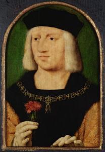 Portret van keizer Maximiliaan I