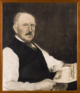 Portret van Cornelius Petrus van Oostveen (1853-1924)