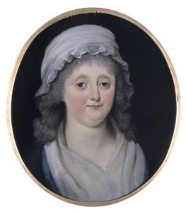 Portret van Margaretha Straalman (1747-1816)