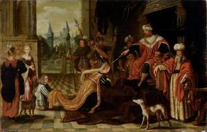 Esther voor Ahasverus