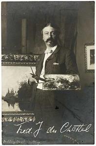Portret van Frederik Jacobus van Rossum du Chattel (1856-1917)