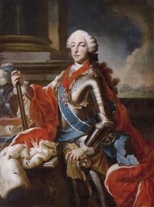 Staatsieportret van Keurvorst Maximiliaan III Jozef van Beieren