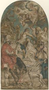 De marteling van de Heilige Apollonia