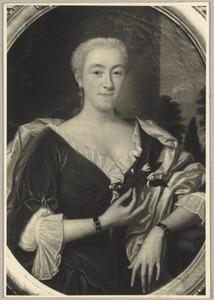 Portret van Cornelia de Reus (1706-1783)