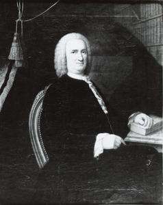 Portret van Jacob Hurgronje (1694-1750)