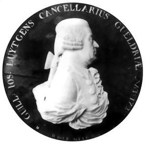 Portret van Guilielmus Josephus Luytgens (1722-1802)