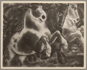 Hollende paarden