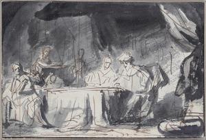 Tijdens het banket beschuldigt Ester Haman. Koning Ahasveros ontsteekt in woede (Ester 7:1-7)