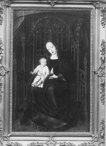 Tronende Madonna met kind