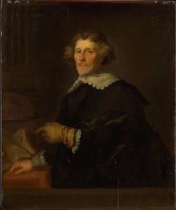 Portret van Pieter Cornelisz. Hooft (1581-1647), staatsman, schrijver en historicus