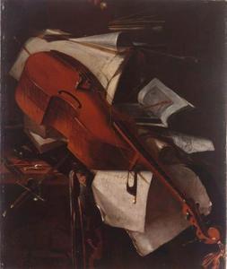 Stilleven met viola da gamba