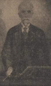 Portret van Arnold Spoel (1859-1934)