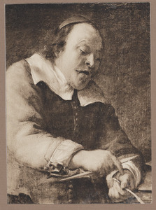 'Het gevoel': portret van een man, mogelijk Pieter Meert (?-1669)