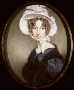 Portret van Anna Madelaine Henriette de Bosset (1793-1869)