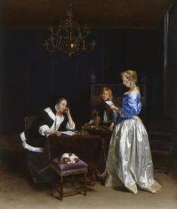 Vrouw leest een brief