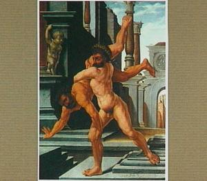 Hercules en Antaeus