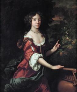 Portret van Mary II Stuart (1662-1694)