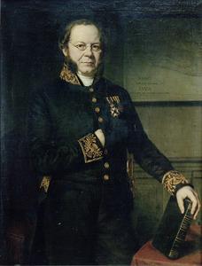 Portret van Wolter Robert van Hoevell (1812-1879)