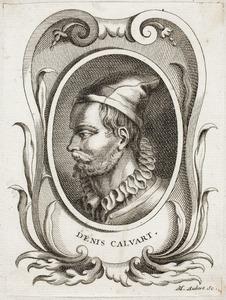 Portret van Denys Calvaert (....-1619)