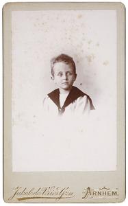 Portret van August Mattheus Ludwig Rümke (1891-1980)