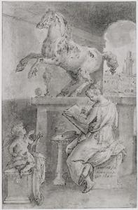 Allegorie op de tekenkunst