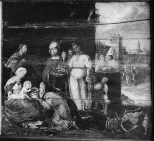 De aanbidding der koningen (Mattheüs 2:1-12)