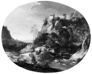 Mercurius plukt voor Odysseus een magisch kruid als bescherming tegen de toverkunst van Circe (Ovidius, Metamorfosen, XIV, 291 e.v.)