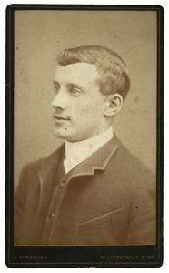 Portret van Ton van Wijk