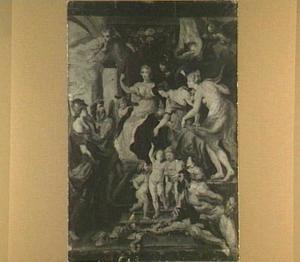 De gelukkige regering van Maria de' Medici (Maria de'Medici-cyclus)