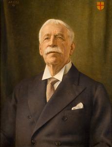 Portret van Rodolphe Frederic van Heeckeren (1858-1936)