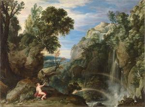 Landschap met Psyche en Jupiter