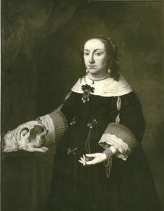 Portret van Anna Catharina Constance Wasa (1619-1651), keurvorstin van de Palts
