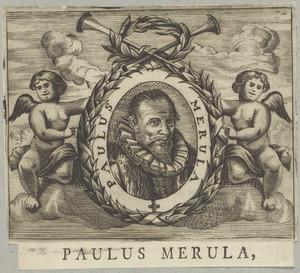 Portret van Paulus Merula (1558-1607)